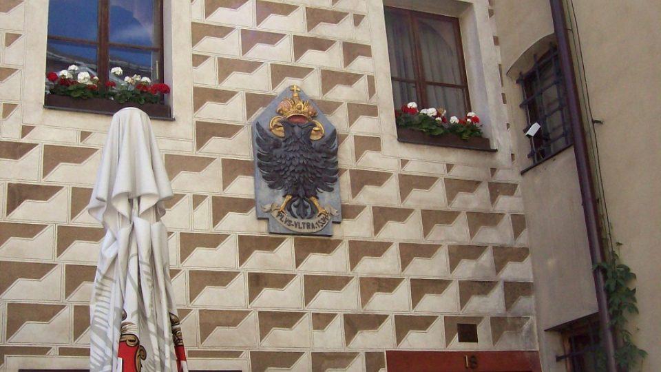 Detail historické budovy