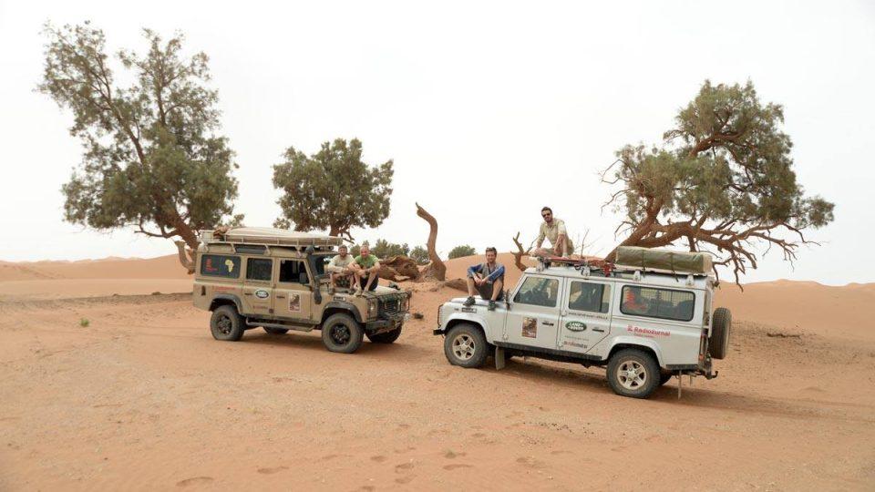 4000 kilometrů na mys Juba