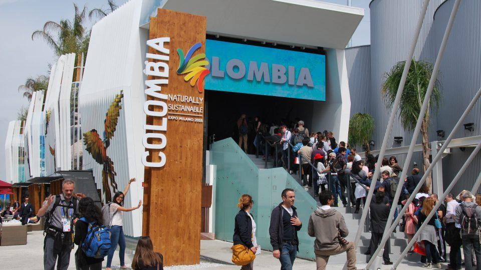 Kolumbijský pavilon na výstavě EXPO 2015