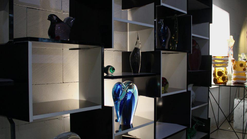 Díla benátských sklářských výtvarníků