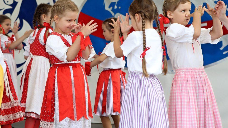 Foto z Mezinárodního folklorního festivalu CIOFF PLZEŇ