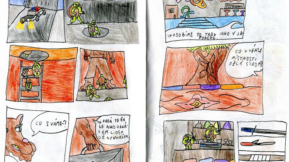 Komiks Robina Bezrouka