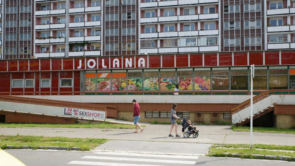 Nákupní centrum Jolana