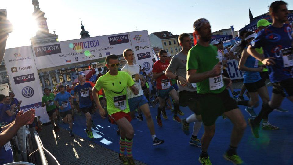 Půlmaratón v Českých Budějovicích