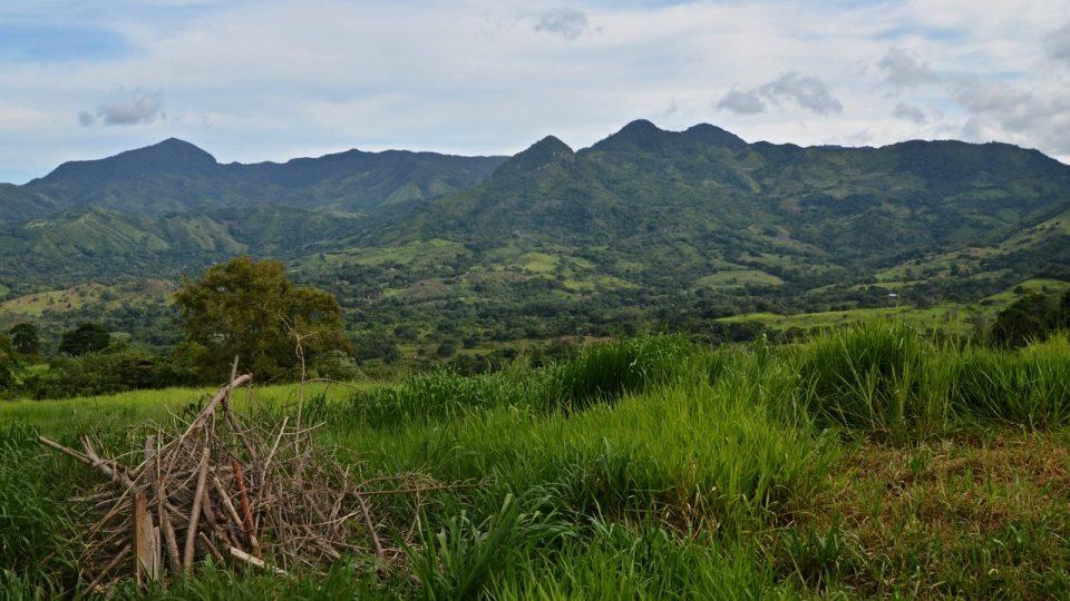 V krajině schované za kopci leží panamské Lidice