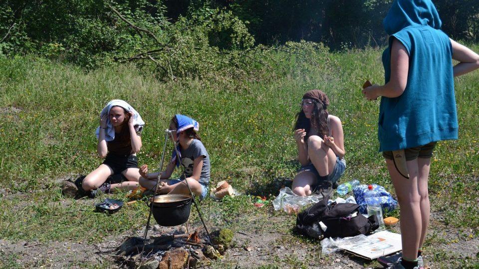 Svojsíkův závod - polní kuchyně