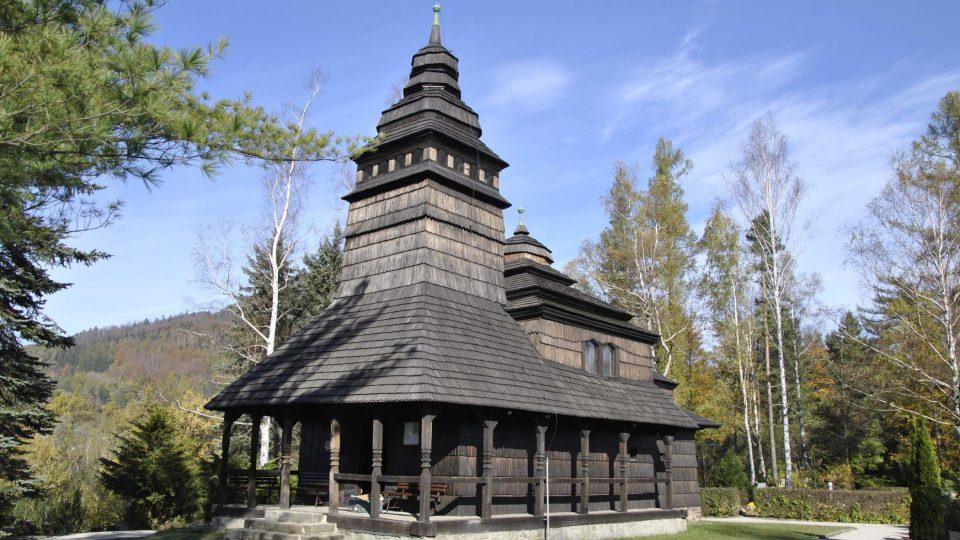 Kostel svatých Prokopa a Barbory v Kunčicích pod Ondřejníkem