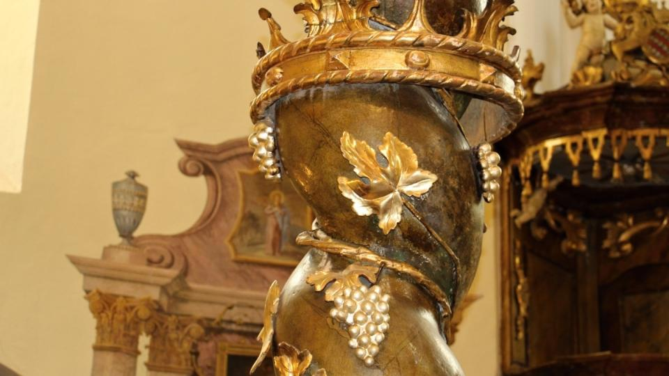 Detail oltáře