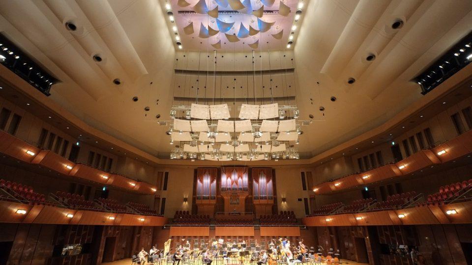 SOČR v Japonsku 2015 / Symphony Hall Ósaka