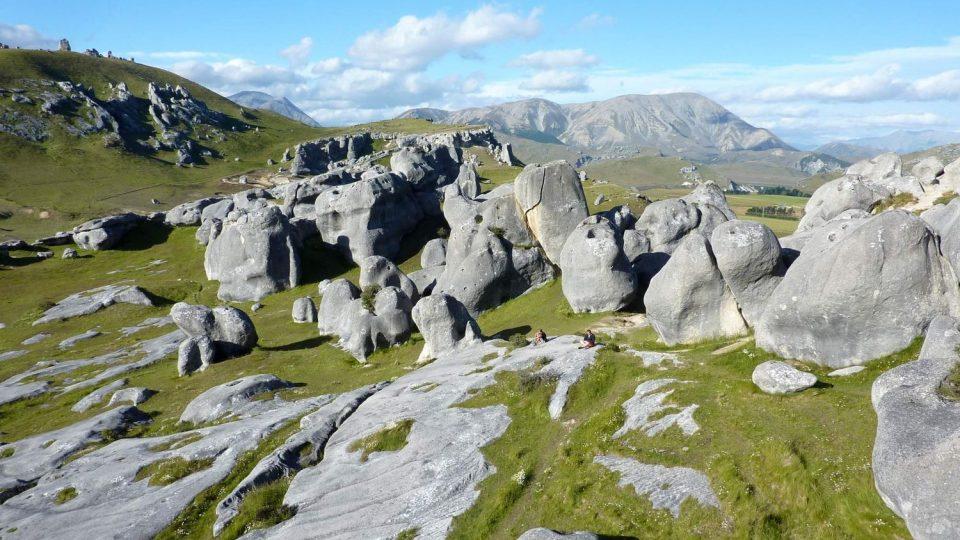 Příroda Nového Zélandu je úžasná (Arthurs Pass)