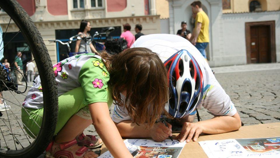 Kavárna POTMĚ - start cykloexpedice