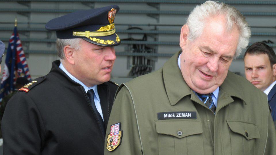 Miloš Zeman na náměšťské základně