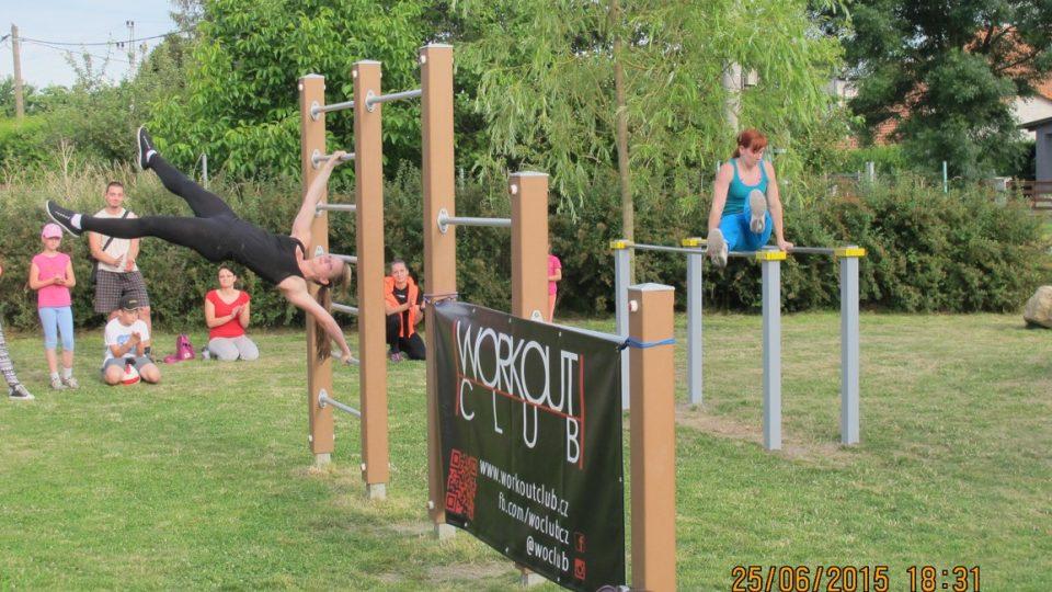 Workout park v Držovicích