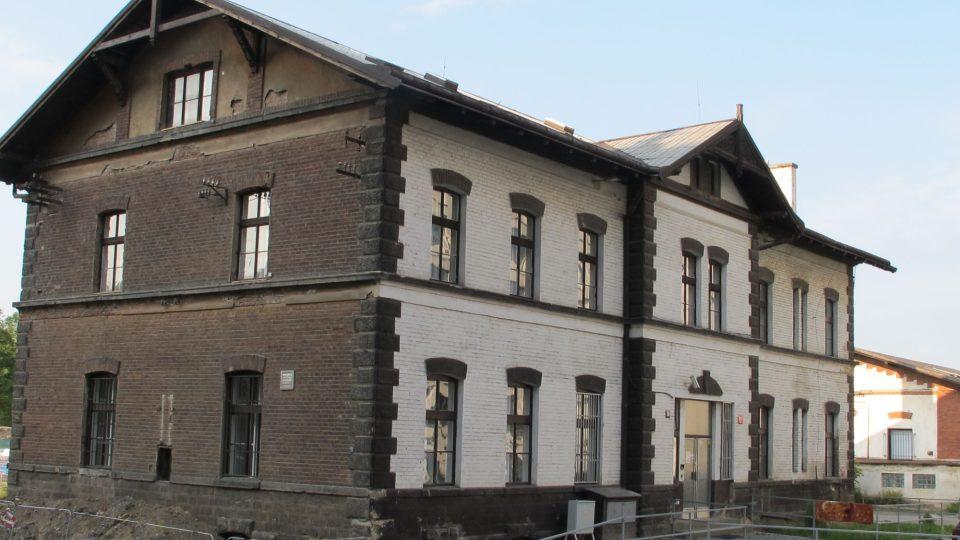Bývalá železniční stanice na trase Karlín - Libeň