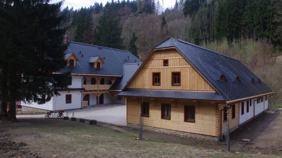 Východiskem je Středisko cekologické výchovy Švagrov