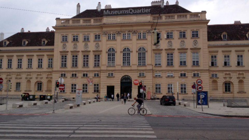 Hlavní vstup do Muzejní čtvrti