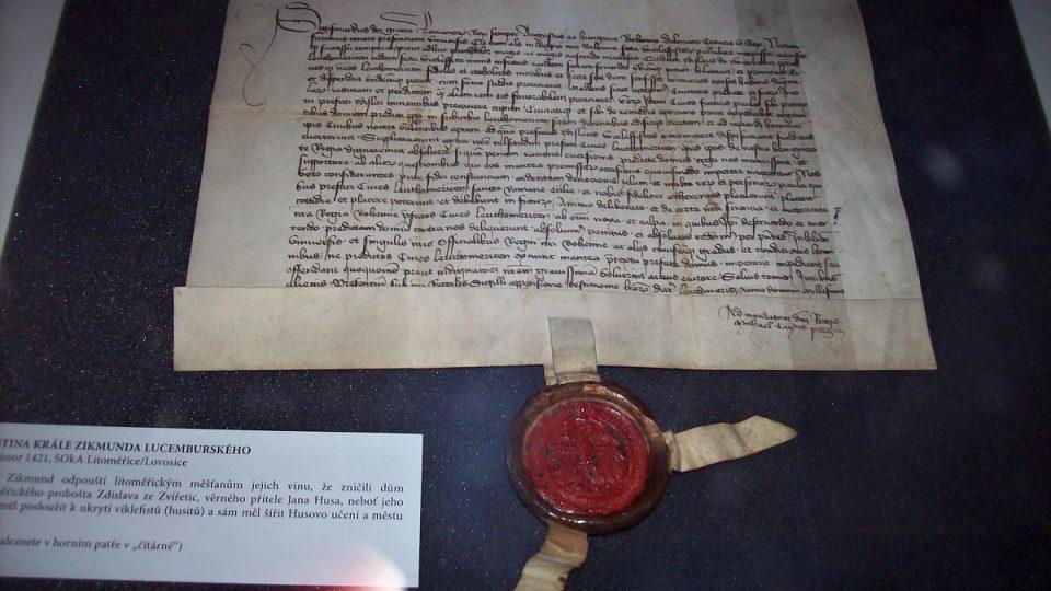 Listina Zikmunda Lucemburského
