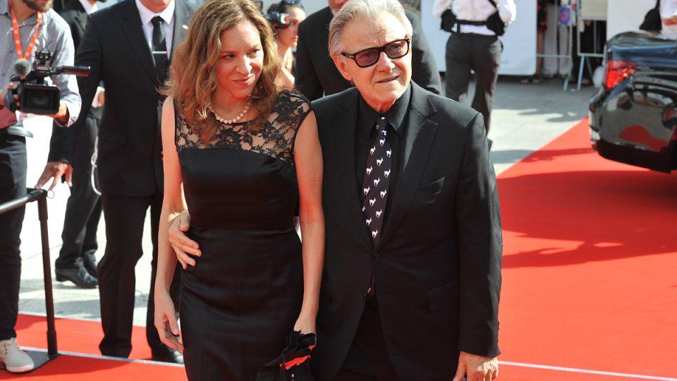 50. Mezinárodní filmový festival Karlovy Vary, Harvey Keitel s manželkou Daphnou Kastner
