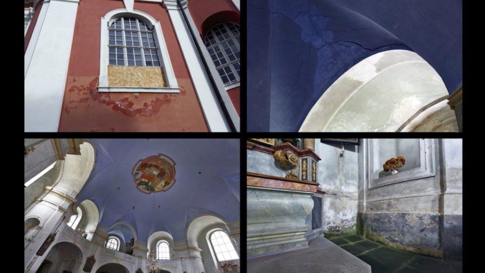 Unikátní kostely na Broumovsku - Božanov