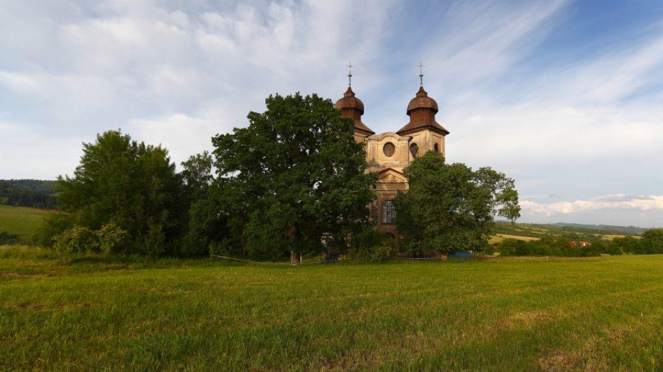 Unikátní kostely na Broumovsku - Šonov
