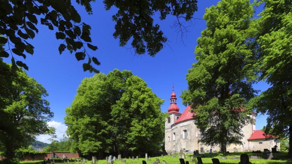 Unikátní kostely na Broumovsku - Vernéřovice