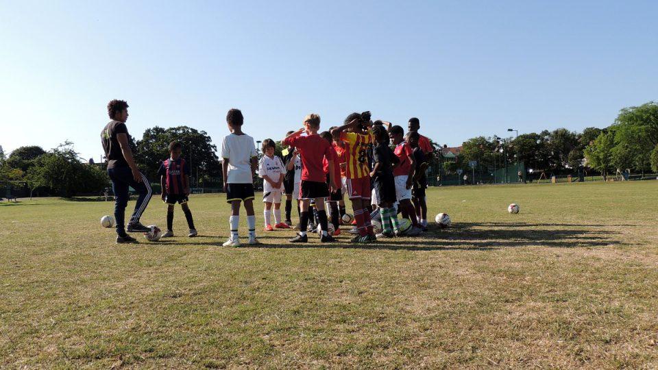 Trénink Focus Football
