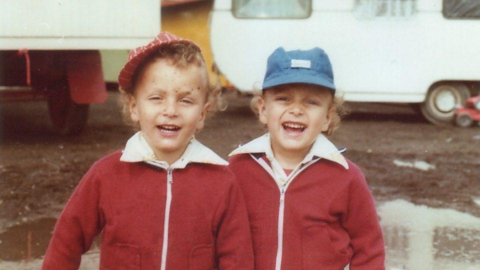 Bratři Bubeníčkové v Bukurešti 1977