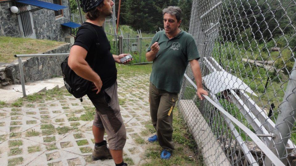 Veterinář Vasil Madolev je šéfem pečovatelského týmu