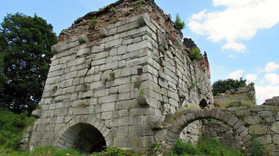 Národní technická památka Vysoká pec u Šindelové
