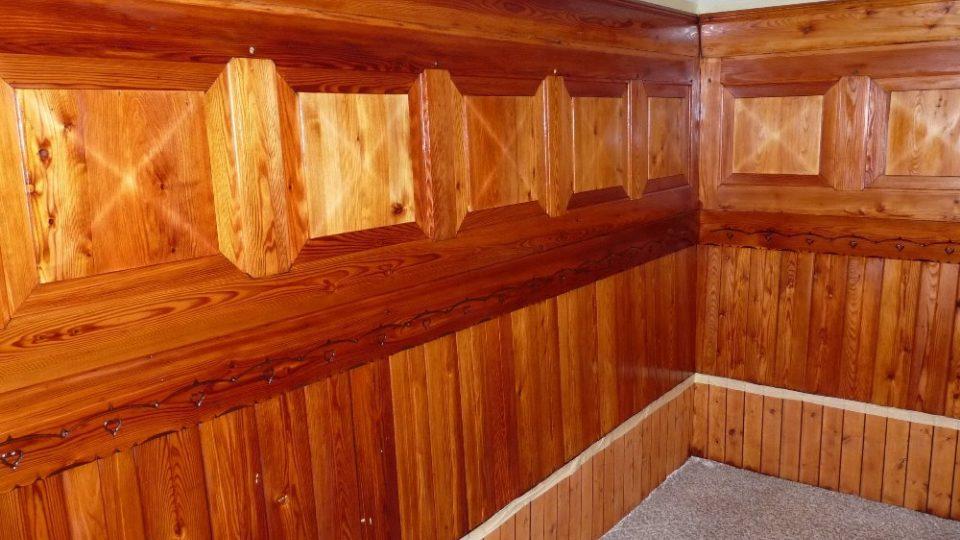 Obnovený interiér