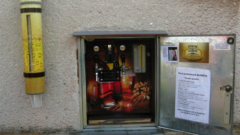 Útroby pivního automatu