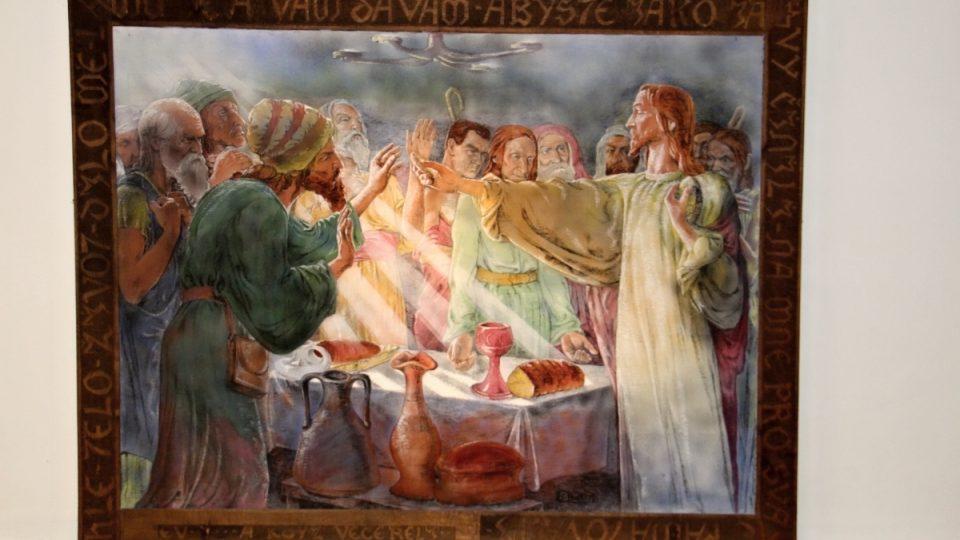 Obraz Poslední večeře Páně