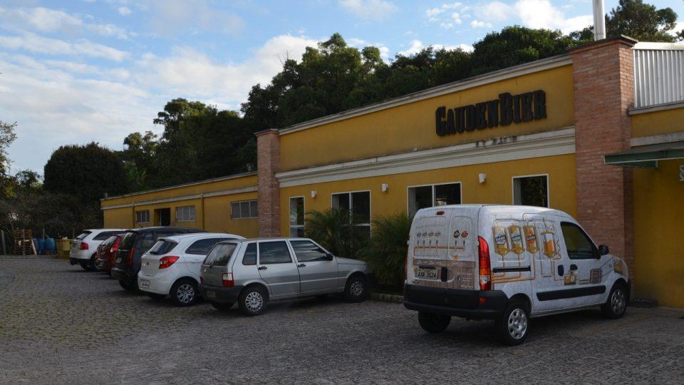 Nevypadá to tak, ale malá budova na kraji města Curitiba je skutečně pivovar