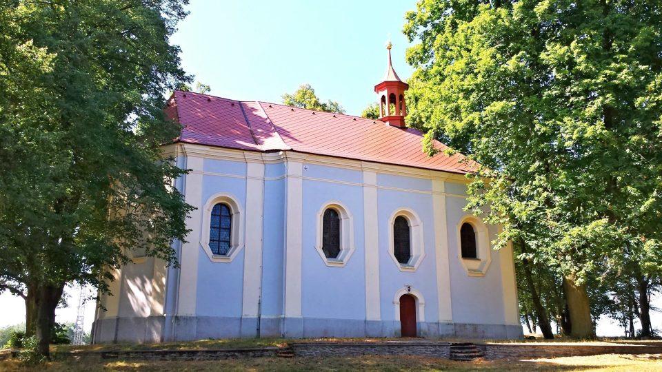 Kostelík svatého Vavřince na Veselé hoře