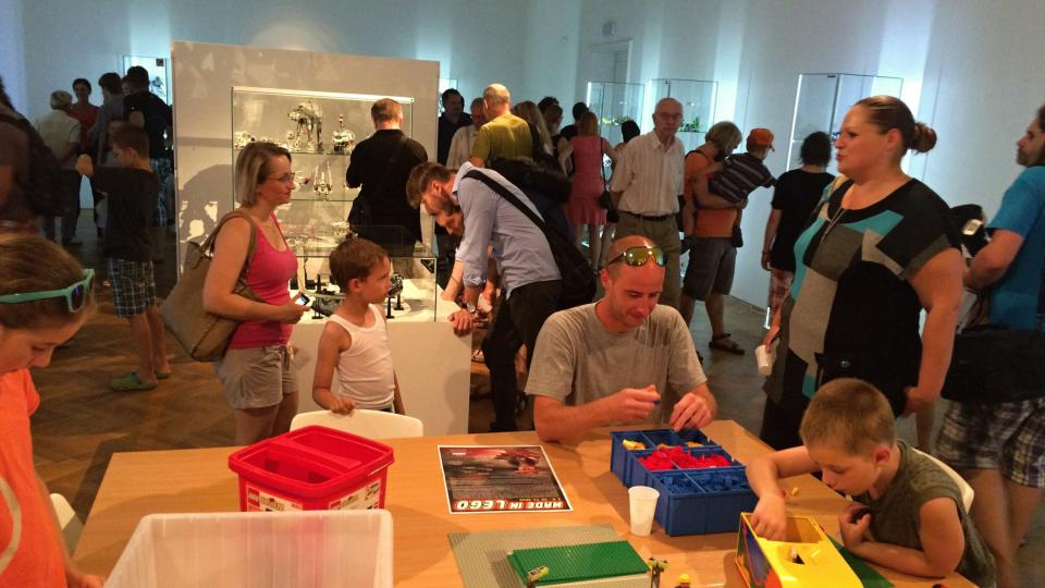 Výstava modelů z více než 70.000 kostiček lega je k vidění v ústeckém muzeu