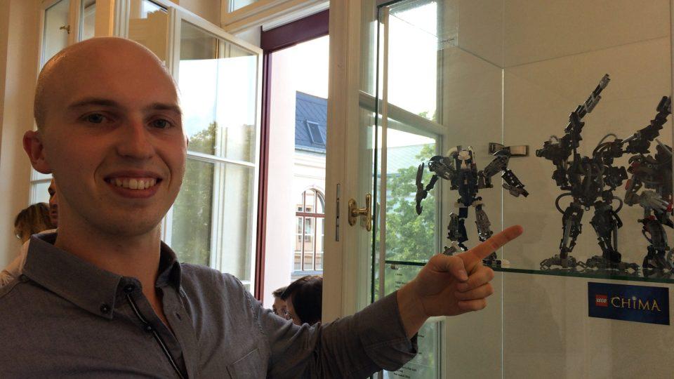 292 modelů ze stavebnice Lego vystavuje v muzeu v Ústí nad Labem Václav Dius