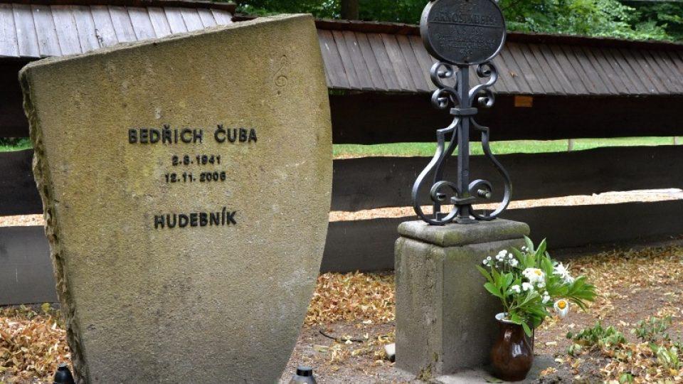 Hrob hudebníka Bedřicha Čuby