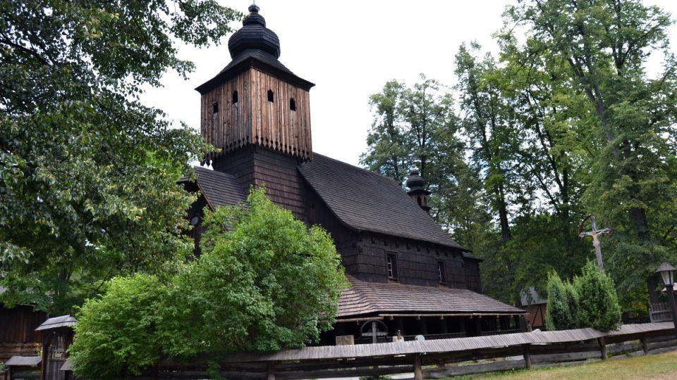 Kostel svaté Anny a Valalšský Slavín