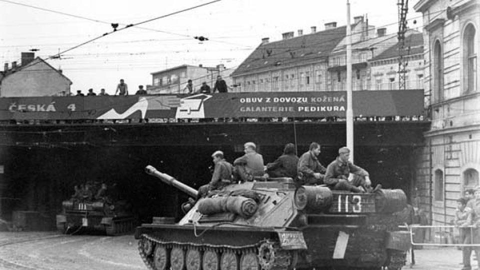 Brno, srpen 1968