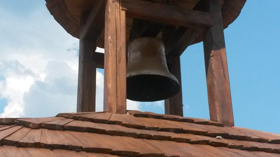 Zvon Martin. Jmenuje se na památku horala Martina Lukeše, který na Javořince žil