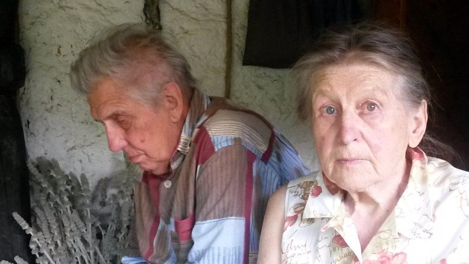 Paní Zdenka Tomášková s manželem Václavem