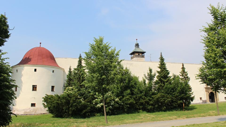 Dřevohostice - zámek
