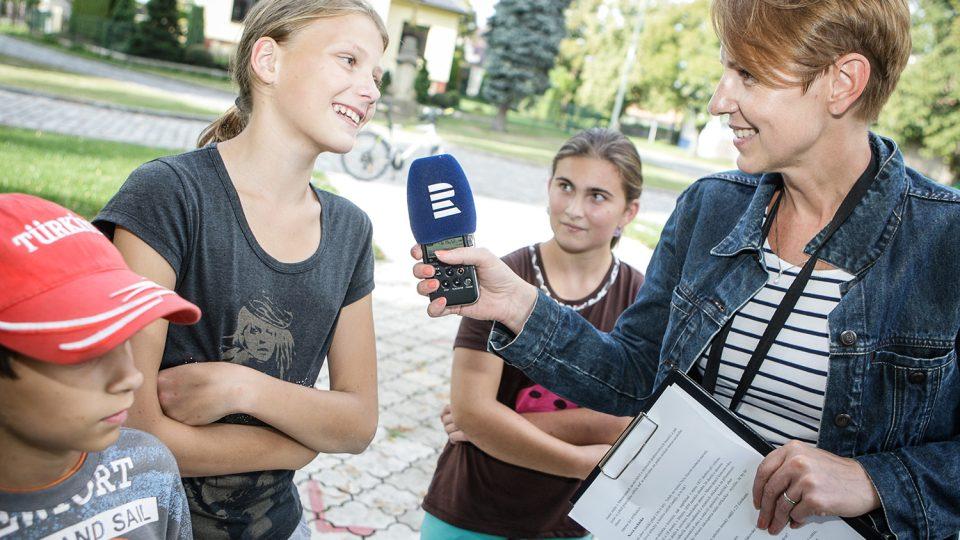 Mladí dobrovolní hasiči z Moravan