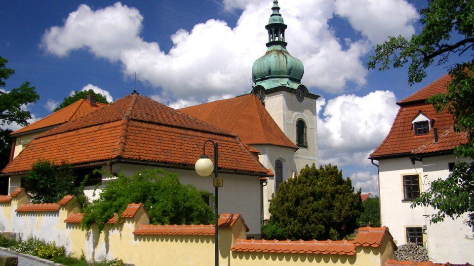 Jiřetín pod Jedlovou - kostel