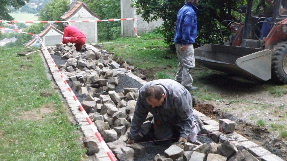 Jiřetín pod Jedlovou - rekonstrukce
