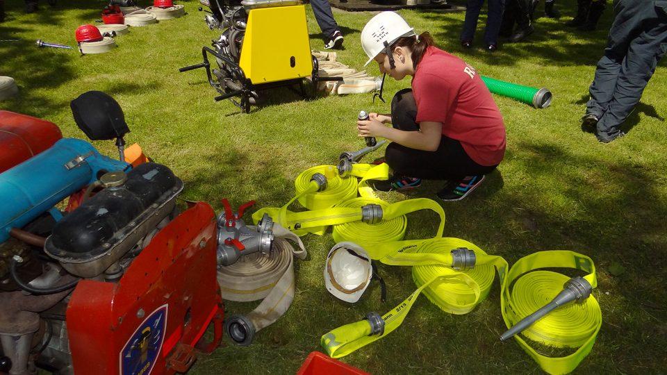 SDH Radim na hasičských závodech