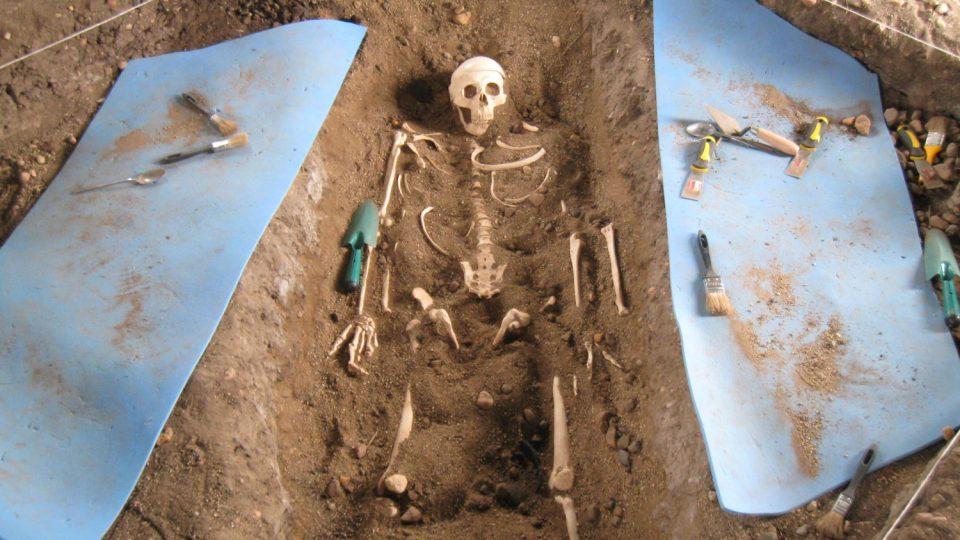 V archeoparku si vyzkoušíte i práci s vykopávkami