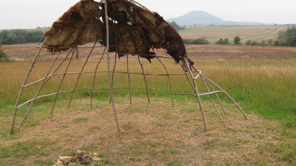 Rekonstrukce stanu lovců mamutů