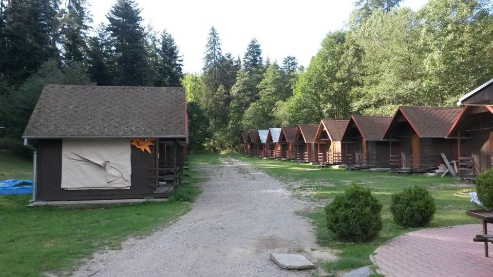 Místo bývalé barabské vesnice