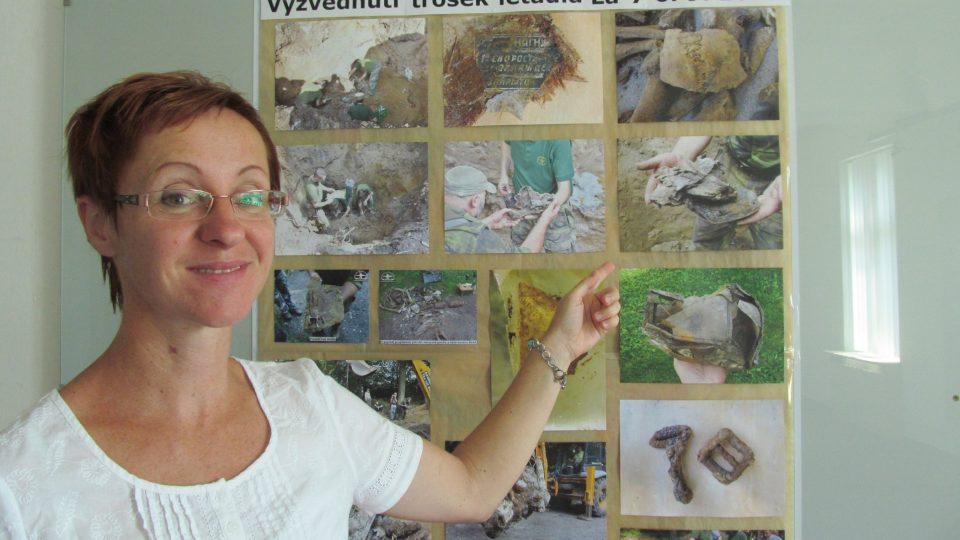 Alice Chlebovská, expozice na zámku